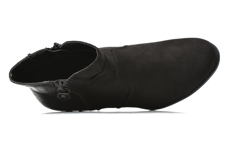 Botines  Jana shoes Scille Negro vista lateral izquierda