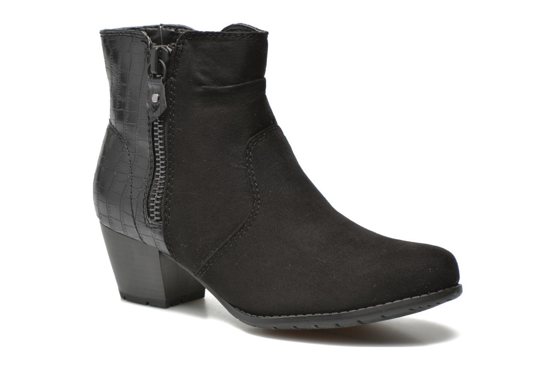 Bottines et boots Jana shoes Scille Noir vue détail/paire
