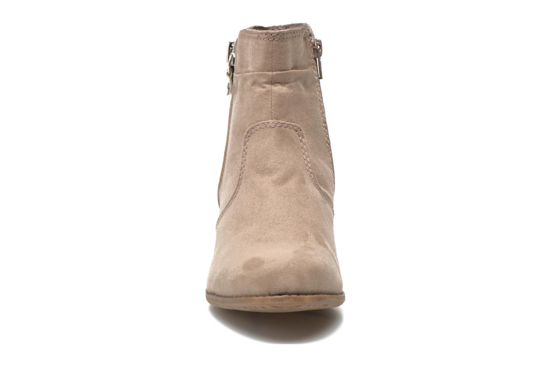 Stiefeletten & Boots Jana shoes Scille beige schuhe getragen