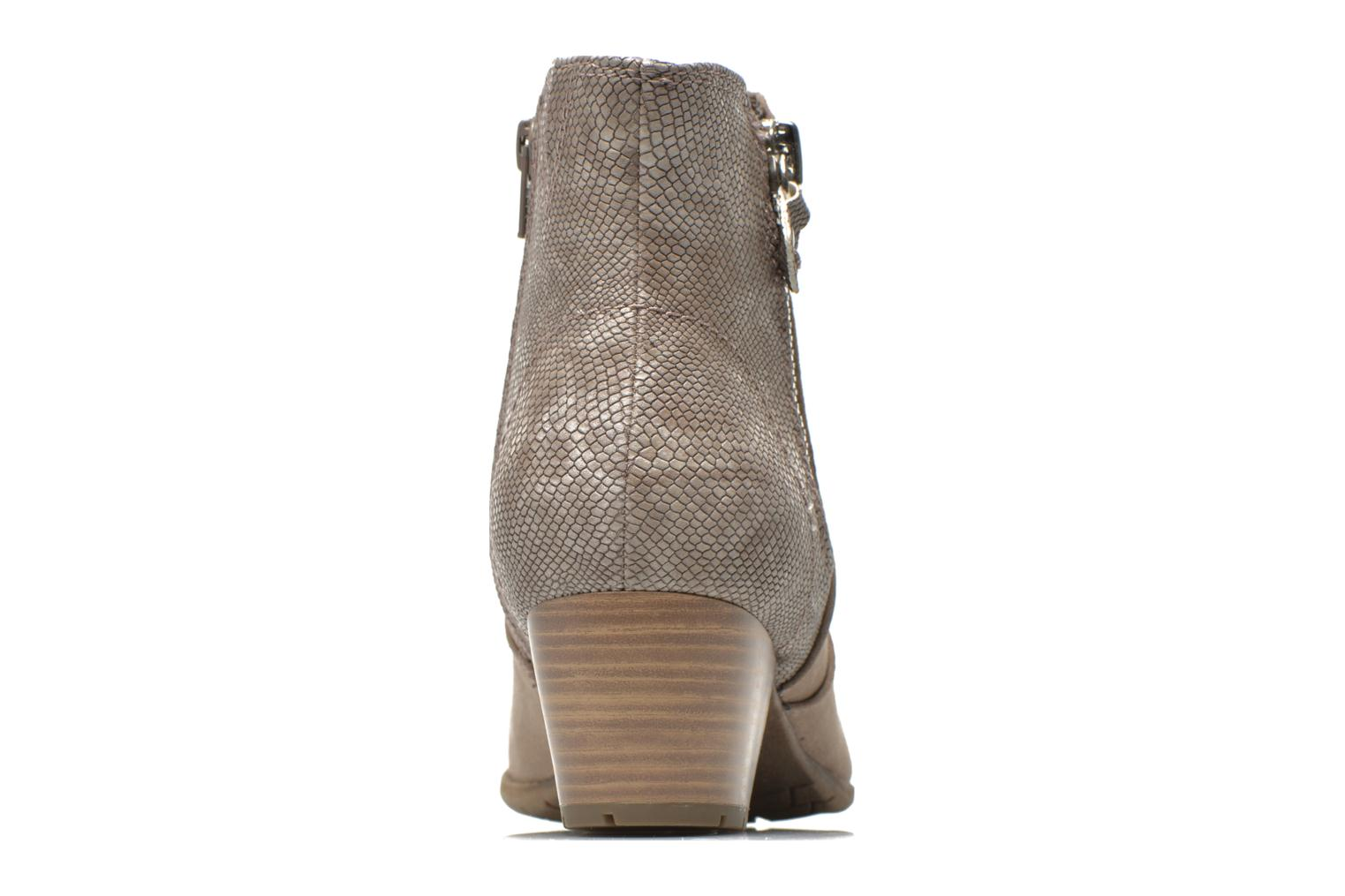 Ankle boots Jana shoes Scille Beige view from the right