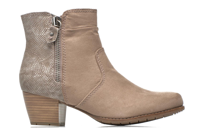 Stiefeletten & Boots Jana shoes Scille beige ansicht von hinten