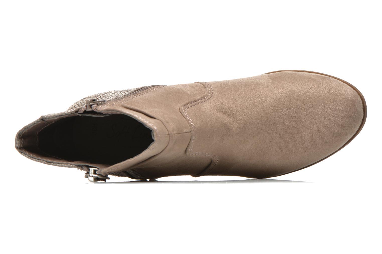 Stiefeletten & Boots Jana shoes Scille beige ansicht von links