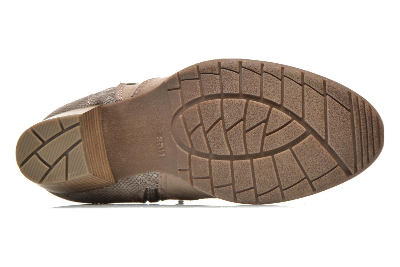 Bottines et boots Jana shoes Scille Beige vue haut