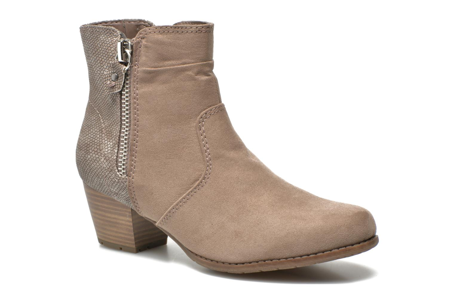 Ankle boots Jana shoes Scille Beige detailed view/ Pair view