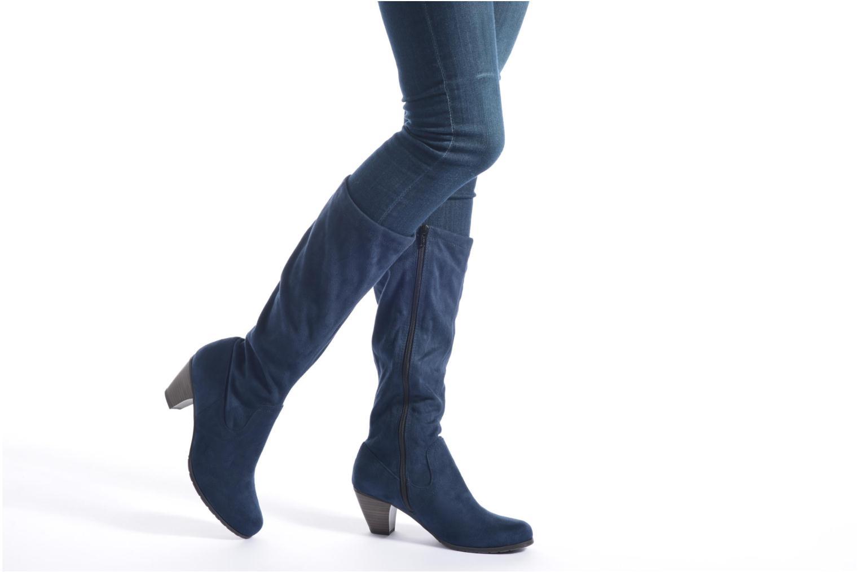 Bottes Jana shoes Lulu 2 Bleu vue bas / vue portée sac