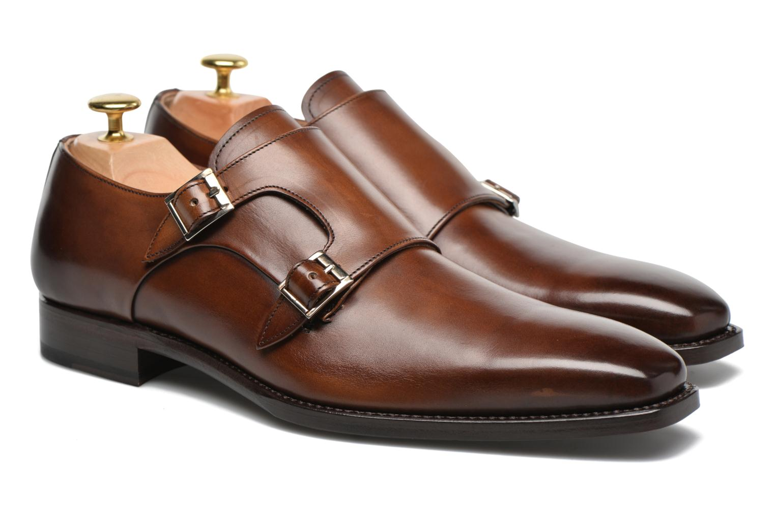 Loafers Marvin&Co Luxe Witruck - Cousu Goodyear Brun 3/4 bild