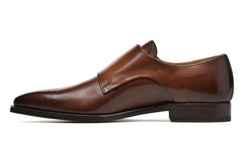 Slipper Marvin&Co Luxe Witruck braun ansicht von vorne