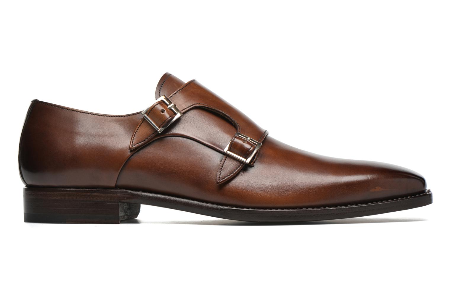 Mocasines Marvin&Co Luxe Witruck - Cousu Goodyear Marrón vistra trasera