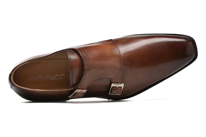 Mocasines Marvin&Co Luxe Witruck - Cousu Goodyear Marrón vista lateral izquierda