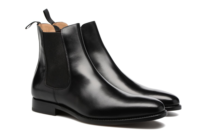 Bottines et boots Marvin&Co Luxe WASPEN Noir vue 3/4