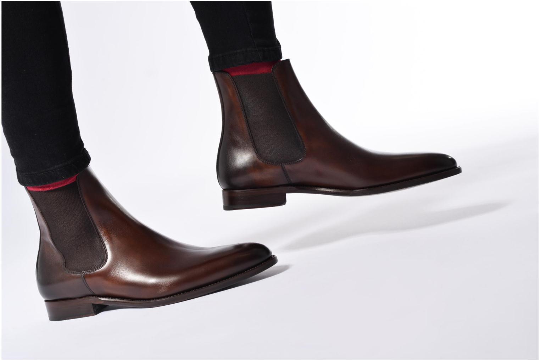 Bottines et boots Marvin&Co Luxe WASPEN Noir vue bas / vue portée sac