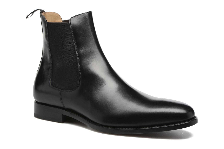 Ankelstøvler Marvin&Co Luxe WASPEN Sort detaljeret billede af skoene