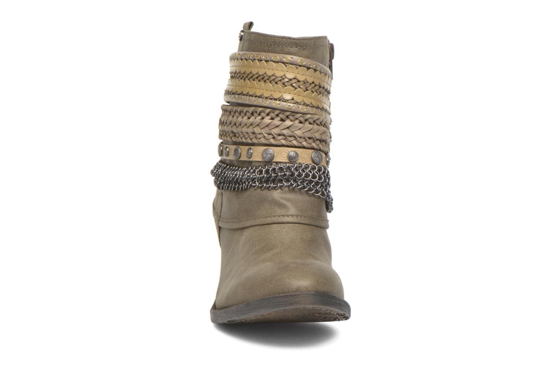 Bottines et boots Bullboxer Lipika Vert vue portées chaussures