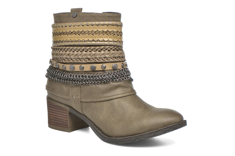 Bottines et boots Bullboxer Lipika Vert vue détail/paire