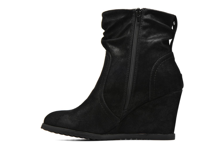 Stiefeletten & Boots Bullboxer Bala schwarz ansicht von vorne