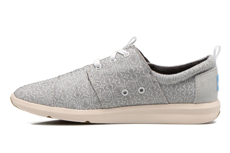 Sneaker TOMS Del Rey Sneaker grau ansicht von vorne