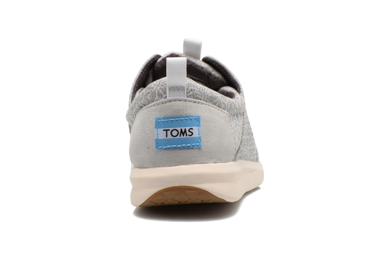 Baskets TOMS Del Rey Sneaker Gris vue droite