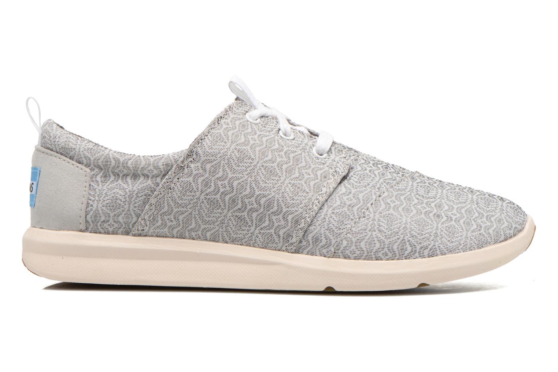 Sneaker TOMS Del Rey Sneaker grau ansicht von hinten