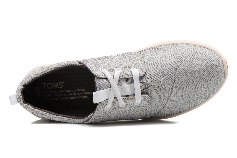 Baskets TOMS Del Rey Sneaker Gris vue gauche