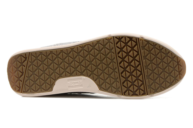 Baskets TOMS Del Rey Sneaker Gris vue haut