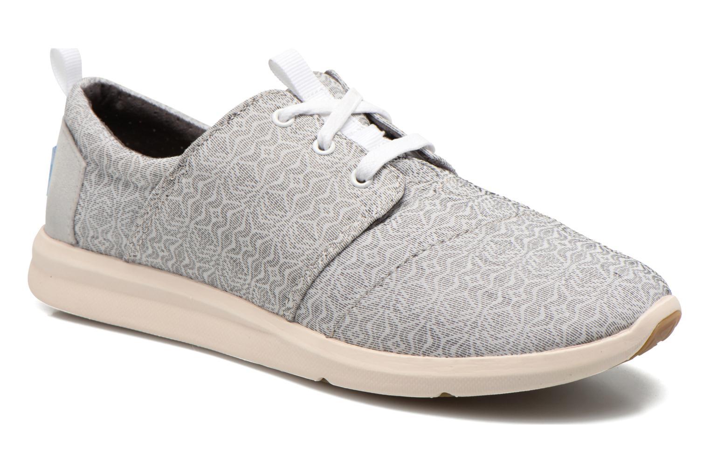 Baskets TOMS Del Rey Sneaker Gris vue détail/paire