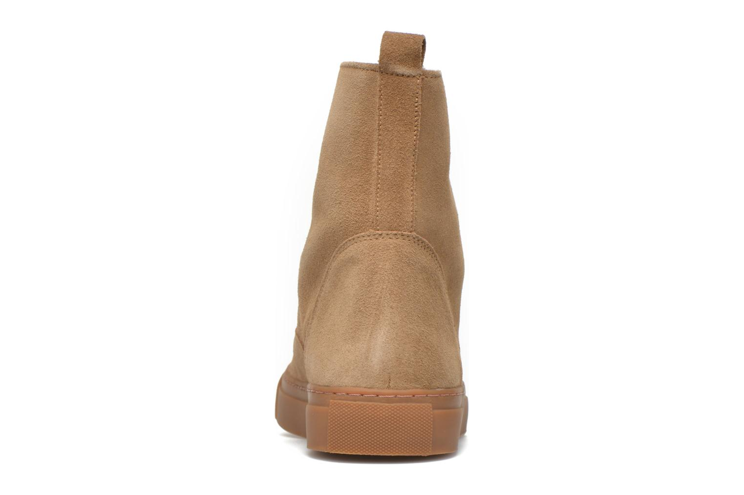 Coronille Camel Suede