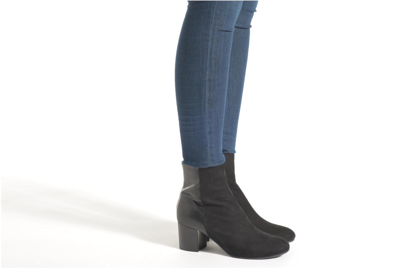 Bottines et boots Billi Bi Ancolie Noir vue bas / vue portée sac