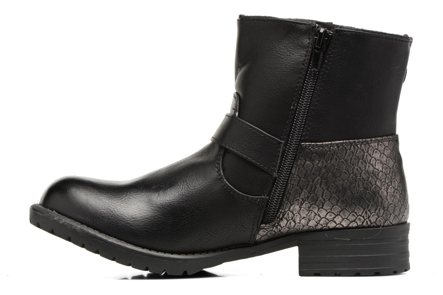 Bottines et boots Bullboxer Margota Noir vue face
