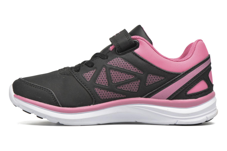 Sport shoes Kappa Fanger Kid EV PU Black front view