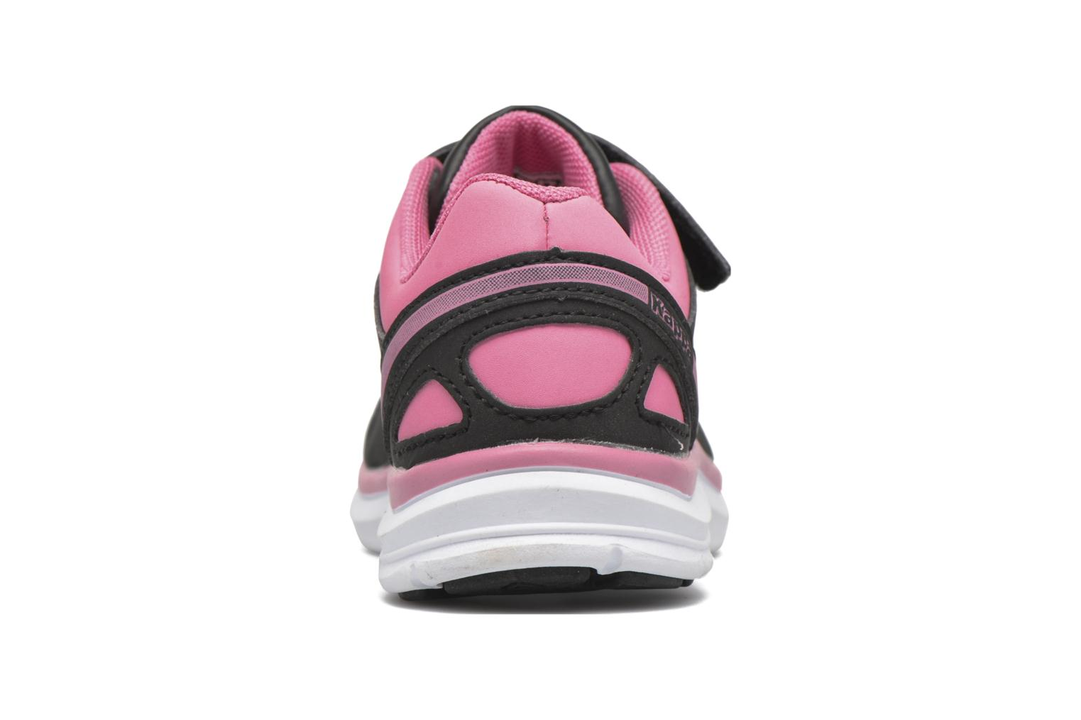 Sport shoes Kappa Fanger Kid EV PU Black view from the right