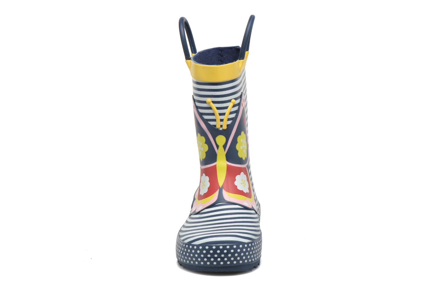 Bottes Be Only Papilly Multicolore vue portées chaussures