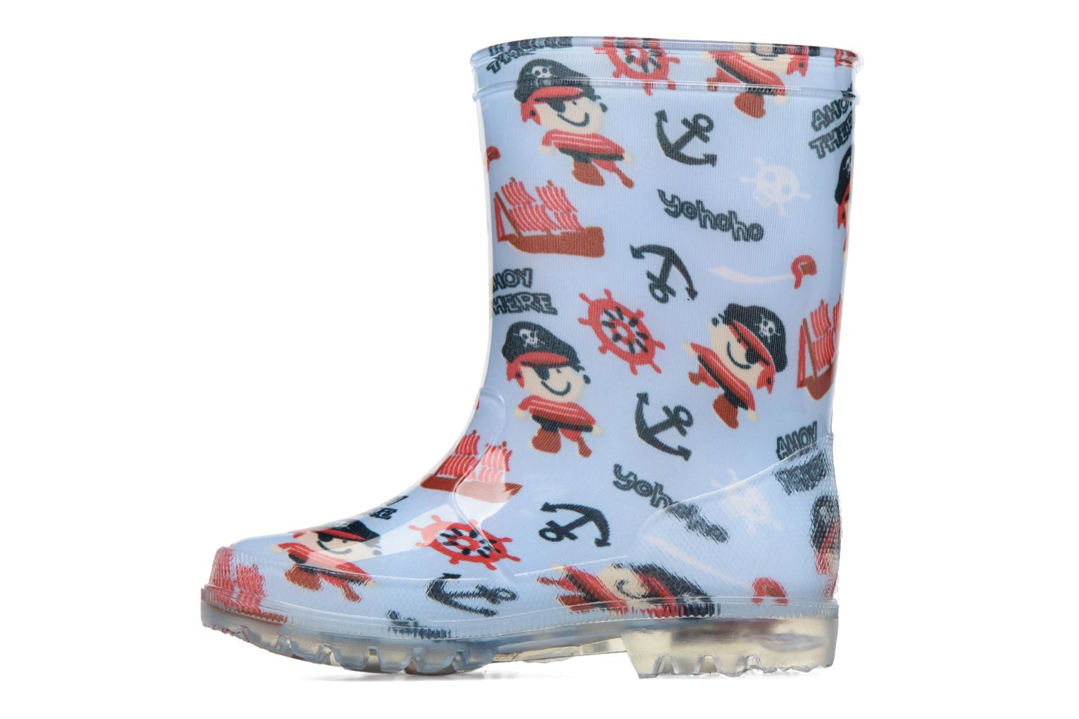Bottes Be Only Pirate Kid Flash Bleu vue face