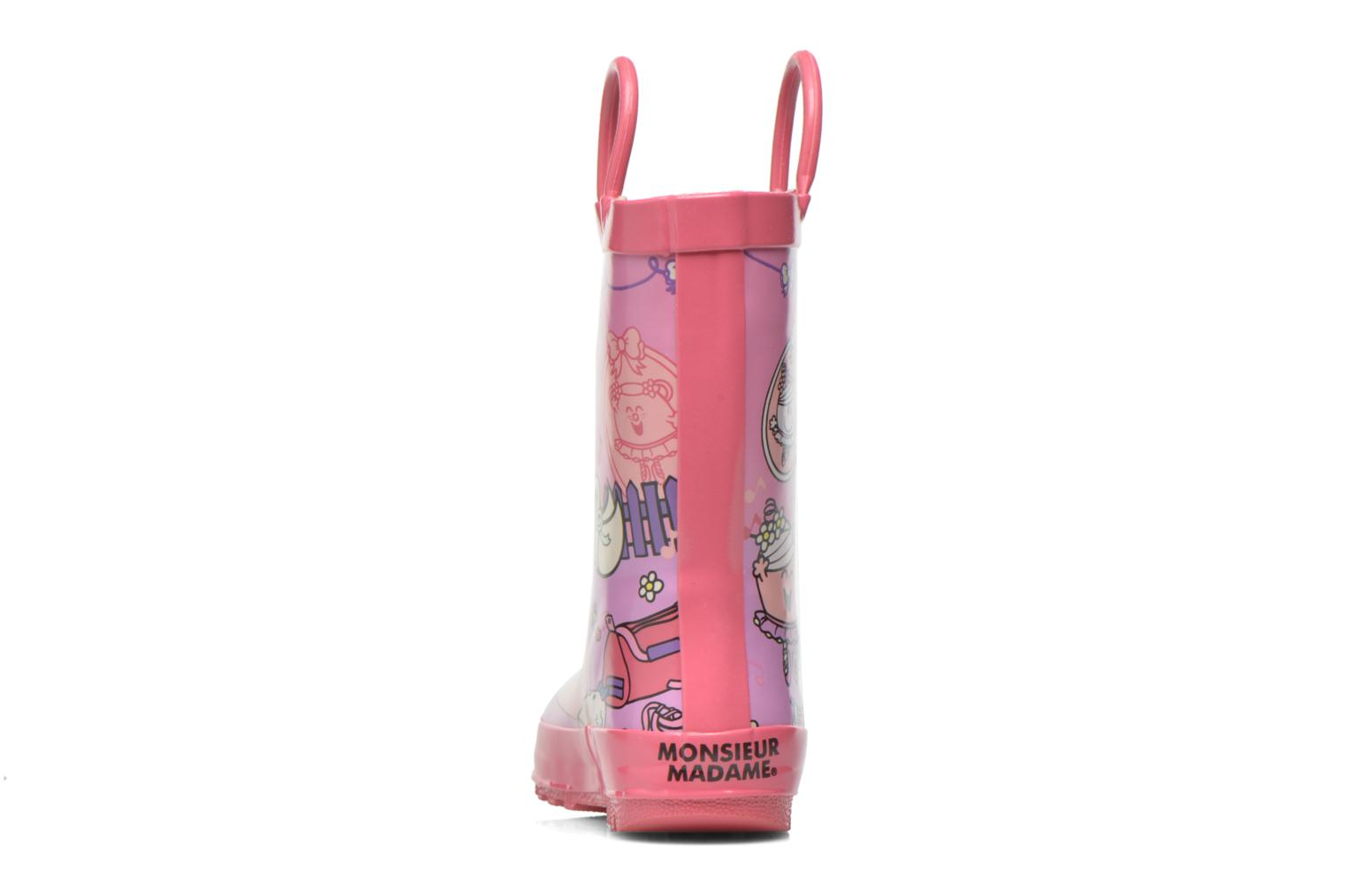 Bottes Be Only Madame Opera Multicolore vue droite