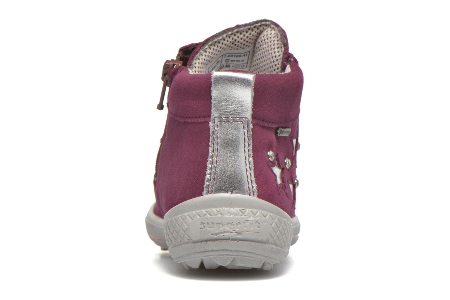 Trainers Superfit Tensy Winter Pink view from the right