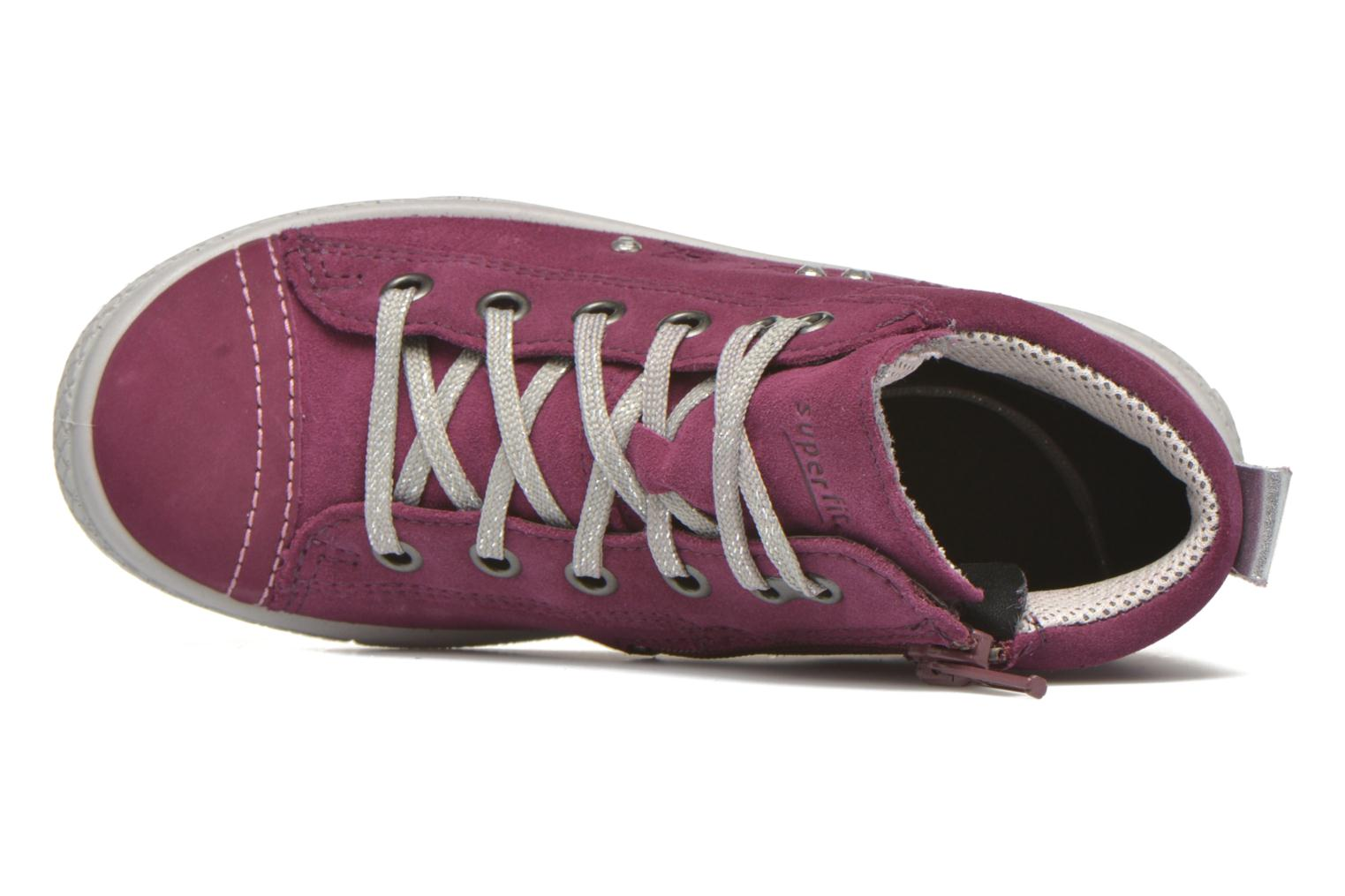 Trainers Superfit Tensy Winter Pink view from the left