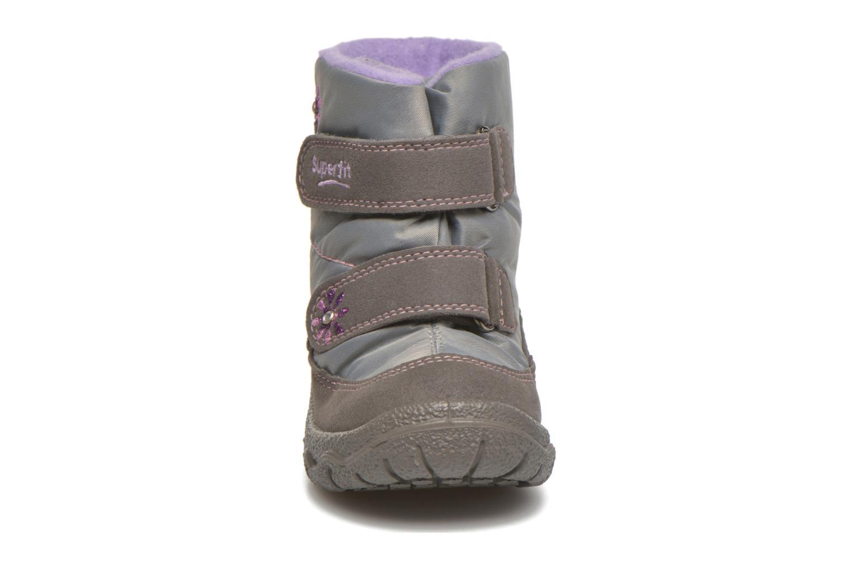 Bottines et boots Superfit Fairy Argent vue portées chaussures