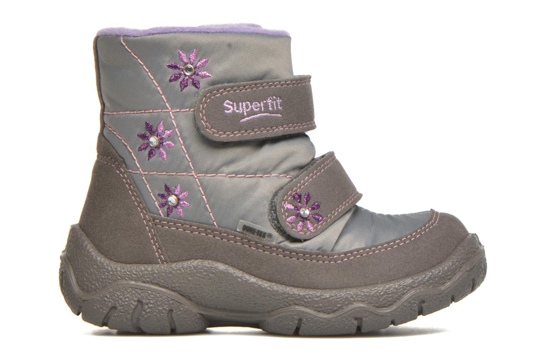 Stiefeletten & Boots Superfit Fairy silber ansicht von hinten