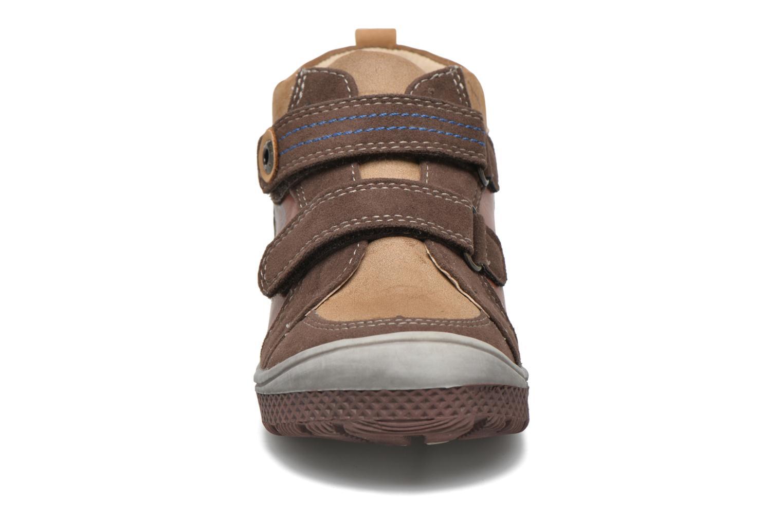 Chaussures à scratch NA! Abes Marron vue portées chaussures