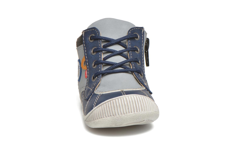 Bottines et boots NA! Ajou Bleu vue portées chaussures