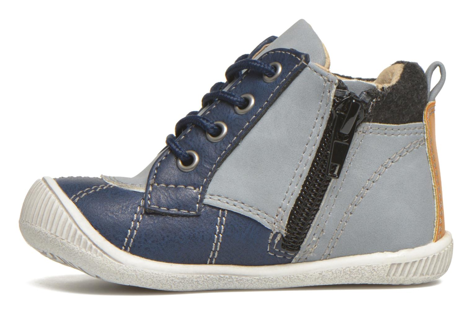 Ankle boots NA! Ajou Blue front view