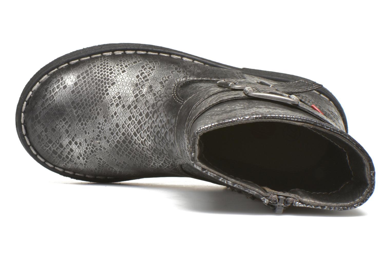 Stiefel NA! Rianne silber ansicht von links