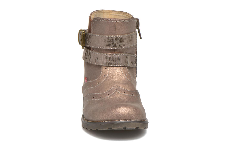 Bottines et boots NA! Ara Or et bronze vue portées chaussures