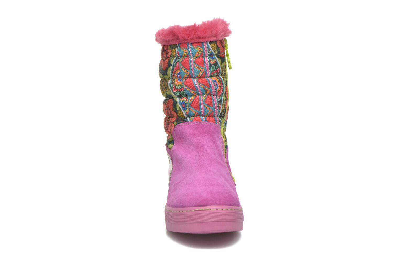 Stiefel Desigual Winter rosa schuhe getragen
