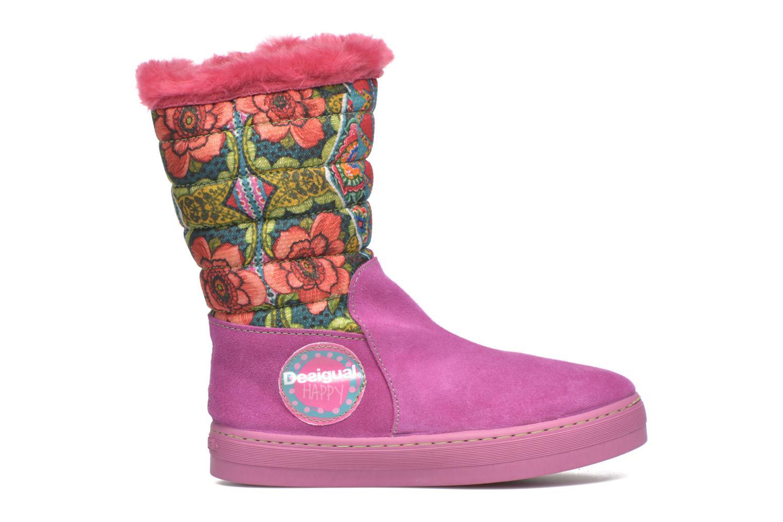 Stiefel Desigual Winter rosa ansicht von hinten