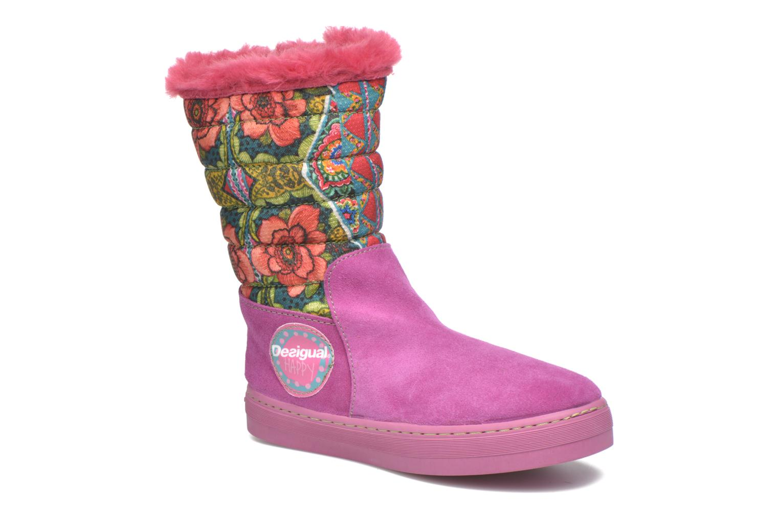 Boots & wellies Desigual Winter Pink detailed view/ Pair view