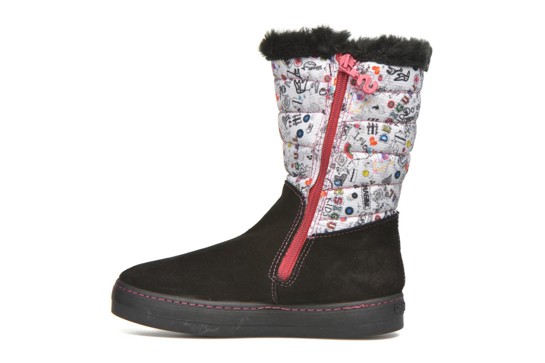 Stiefel Desigual Winter schwarz ansicht von vorne