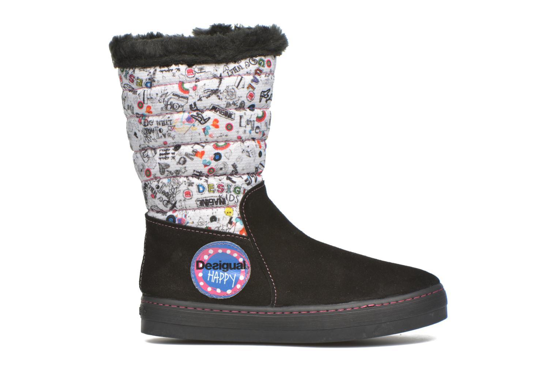 Stiefel Desigual Winter schwarz ansicht von hinten