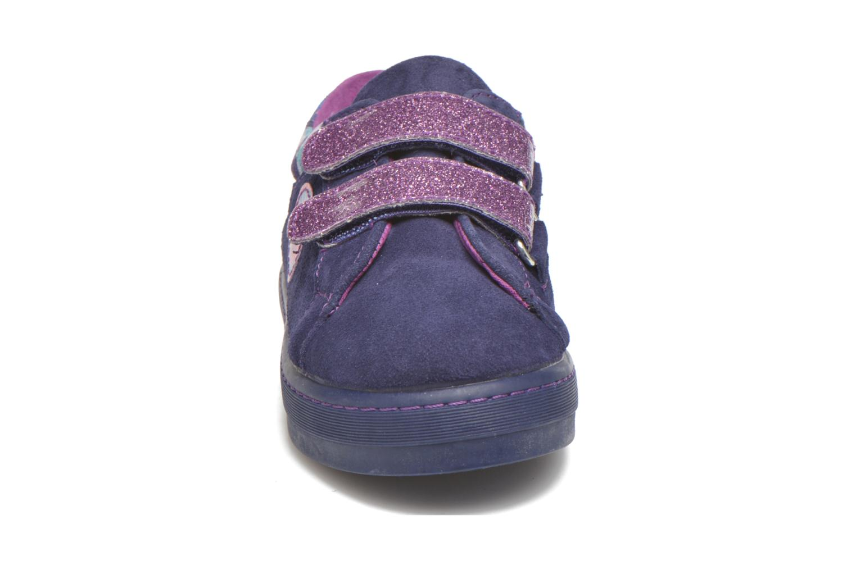 Baskets Desigual Silver Mini Violet vue portées chaussures