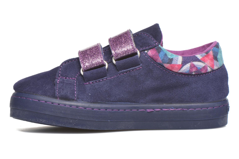 Sneaker Desigual Silver Mini lila ansicht von vorne