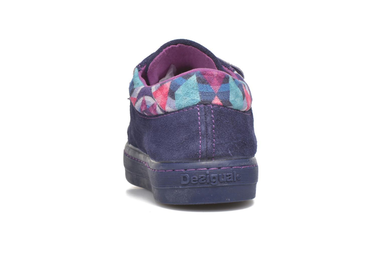 Sneaker Desigual Silver Mini lila ansicht von rechts